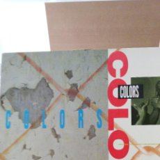 Discos de vinilo: COLORS - ORIGINAL MOTION PICTURE SOUNDTRACK . Lote 50093600