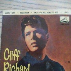 Discos de vinilo: CLIFF RICHARD. WHAT'D I SAY - BLUE MOON + DOS MÁS. LA VOZ DE SU AMO. 1964. Lote 50094685