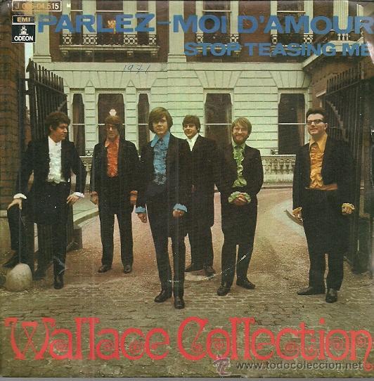 WALLACE COLLECTION SINGLE SELLO EMI-ODEON AÑO 1971 EDITADO EN ESPAÑA (Música - Discos - Singles Vinilo - Pop - Rock - Extranjero de los 70)