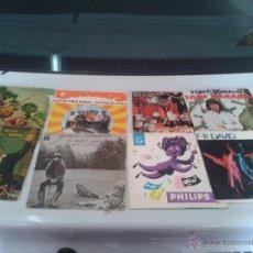 Discos de vinilo: LOTE 8 SINGLES DUO DINAMICO-G. HARRISON-LA MELODIA VIAJERA-F.R DAVID-TONI RONALD-LOS BRAVOS-CANARIOS. Lote 50099137