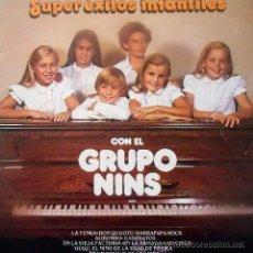 Discos de vinilo: 'SUPER ÉXITOS INFANTILES', DE EL GRUPO NINS. LP 1979.. Lote 50103128