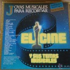 Discos de vinil: LP, JOYAS MUSICALES PARA RECORDAR, EL CINE Y SUS TEMAS MUSICALES. CAJA CON 3 LP.. Lote 50104191
