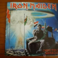 Discos de vinilo: IRON MAIDEN. TWO MINUTES TO MIDNIGHT. ORIGINAL DE 1984.. Lote 50104371