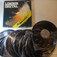 Discos de vinilo: ANTIGUO LOTE DE 8 VINILOS DE MUSICA CLASICA SERIE LONDON DIGITAL PALCO DE HONOR. R.T.I. COLOMBIA. Lote 50107442