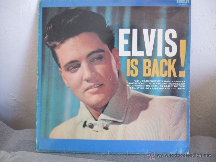ELVIS IS BACK! (Música - Discos - LP Vinilo - Pop - Rock Extranjero de los 50 y 60)