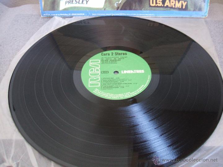 Discos de vinilo: ELVIS IS BACK! - Foto 5 - 50108381