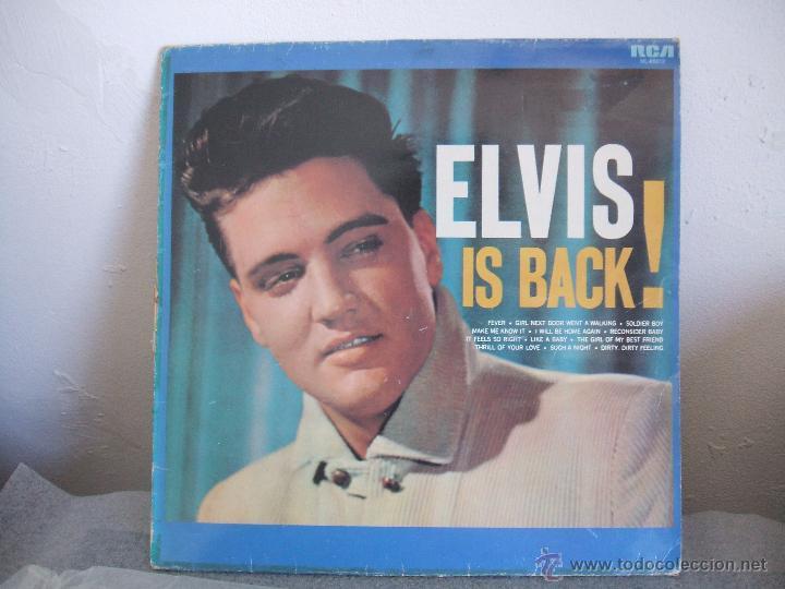 Discos de vinilo: ELVIS IS BACK! - Foto 6 - 50108381