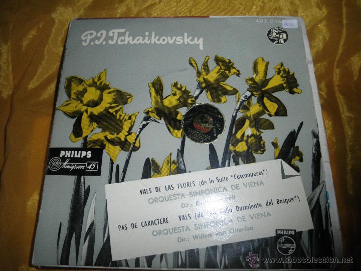 TCHAIKOVSKY. VALS DE LAS FLORES (CASCANUECES) . ORQUESTA SINFONICA DE VIENA. EP. PHILIPS (Música - Discos de Vinilo - EPs - Clásica, Ópera, Zarzuela y Marchas)