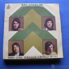 Discos de vinilo: LOS ANGELES OHO-AHA SINGLE SPAIN 1971 PDELUXE. Lote 50109215