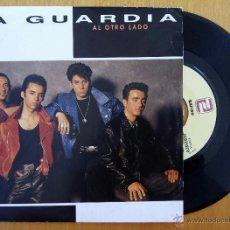 Discos de vinilo: GUARDIA, LA - AL OTRO LADO (ZAFIRO 1991) SINGLE PROMOCIONAL. Lote 50109749