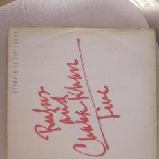 Discos de vinilo: RUFUS AND CHAKA KHAN - LIVE - STOMPIN' AT THE SAVOY. Lote 50113334