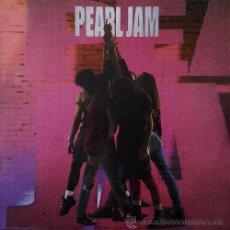 PEARL JAM - TEN - LP RARO DE VINILO - EDICION ESPAÑOLA COMPLETO