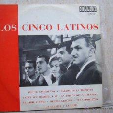 Discos de vinilo: LOS CINCO LATINOS - LP 25 CM. Lote 50119502