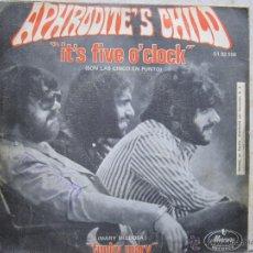 Discos de vinilo: APHRODITE'S CHILD - IT'S FIVE O'CLOCK. Lote 50119628