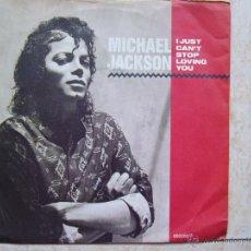 Discos de vinilo: MICHAEL JACKSON - I JUST CAN'T STOP LOVING YOU. Lote 50120103