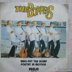 Discos de vinilo: THE BOPPERS - WHO PUT THE BOMP +1. Lote 50120115