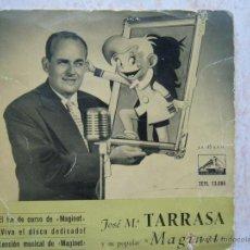 Discos de vinilo: JOSE Mª TARRASA Y SU POPULAR MAGINET. Lote 50120310