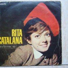 Discos de vinilo: RITA PAVONE CATALANA. Lote 50120331