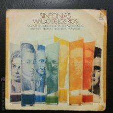Discos de vinilo: SINGLE - SINFONÍAS WALDO DE LOS RÍOS - HISPAVOX 1970.. Lote 50124510