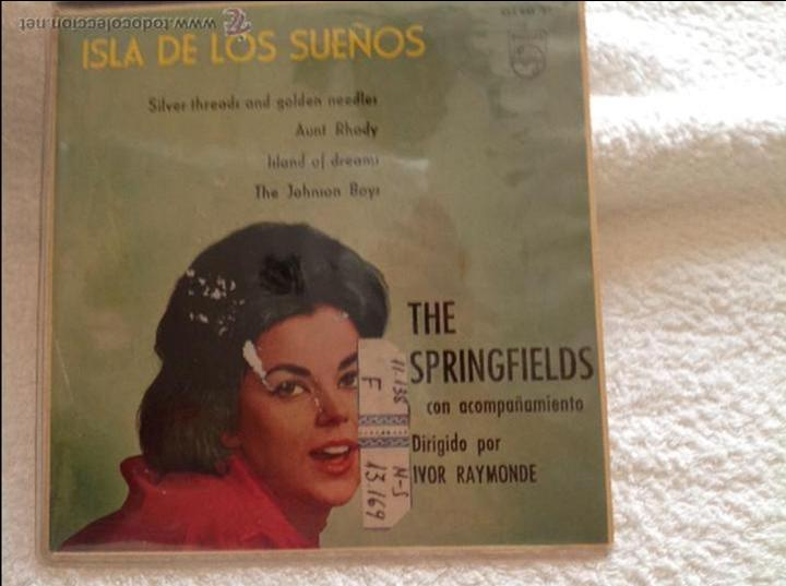 THE SPRINGFIELDS EP SILVER THREADS AND GOLDEN NEEDLES + 3 TEMAS (Música - Discos - Singles Vinilo - Pop - Rock Extranjero de los 50 y 60)