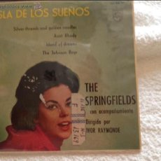 Discos de vinilo: THE SPRINGFIELDS EP SILVER THREADS AND GOLDEN NEEDLES + 3 TEMAS . Lote 50125951