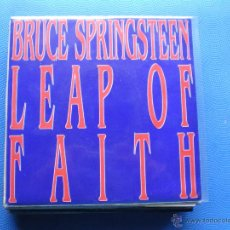 Discos de vinilo: BRUCE SPRINGSTEEN LEAP OF FAITH SINGLE SPAIN 1992 PROMO PDELUXE. Lote 50126381