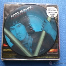 Discos de vinilo: GARY MOORE FRIDAY ON MY MIND SINGLE SPAIN 1987 EDICION PICTURE PDELUXE. Lote 50126695
