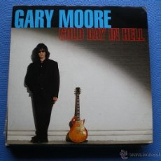 Discos de vinilo: GARY MOORE GOLD DAY IN HELL SINGLE UK 1993 PDELUXE. Lote 50126790