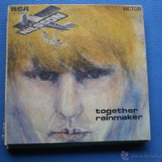 Discos de vinilo: NILSSON TOGETHER / RAINMAKER SINGLE SPAIN 1968 PROMO PDELUXE. Lote 50126866