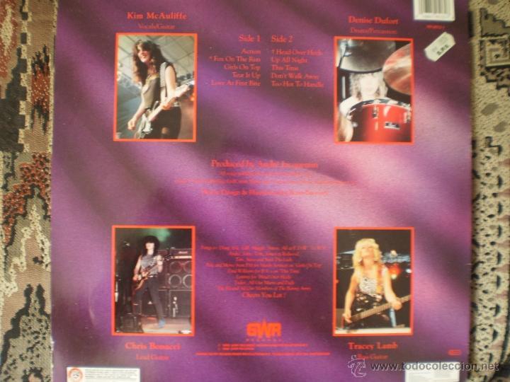Discos de vinilo: LP. GIRLSCHOOL. TAKE A BITE. ORIGINAL 1988. MUY BUENA CONSERVACION - Foto 2 - 50132640