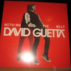 Discos de vinilo: DOBLE LP DAVID GUETTA NOTHING BUT THE BEAT . PARLOPHONE AÑO 2011 EU PRECINTADO. Lote 94736707