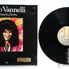 Discos de vinilo: GINO VANNELLI (AND THE ROYAL PHILHARMONIC ORCHESTRA) - A PAUPER IN PARADISE (EDICION UK PROMO 1977). Lote 50138211