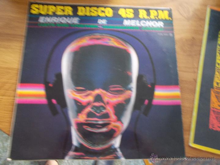 SUPER DISCO. ENRIQUE DE MELCHOR. QUEDEMONOS JUNTOS. MAXI 12 (Música - Discos de Vinilo - Maxi Singles - Solistas Españoles de los 70 a la actualidad)