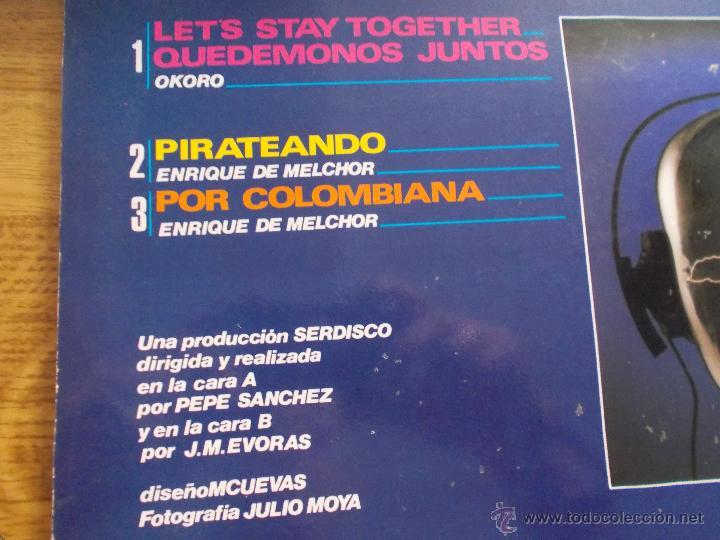 Discos de vinilo: SUPER DISCO. ENRIQUE DE MELCHOR. QUEDEMONOS JUNTOS. MAXI 12 - Foto 2 - 50139702