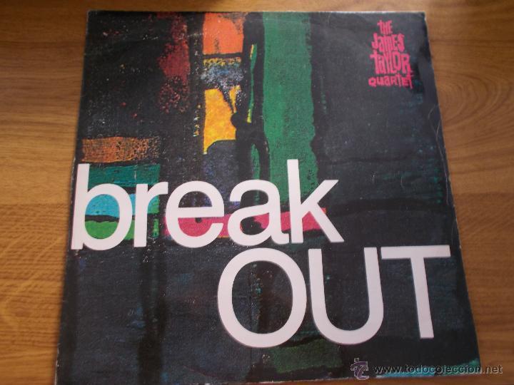 THE JAMES TAYLOR QUARTET. BREAK OUT MAXI 12 (Música - Discos de Vinilo - Maxi Singles - Pop - Rock Extranjero de los 90 a la actualidad)