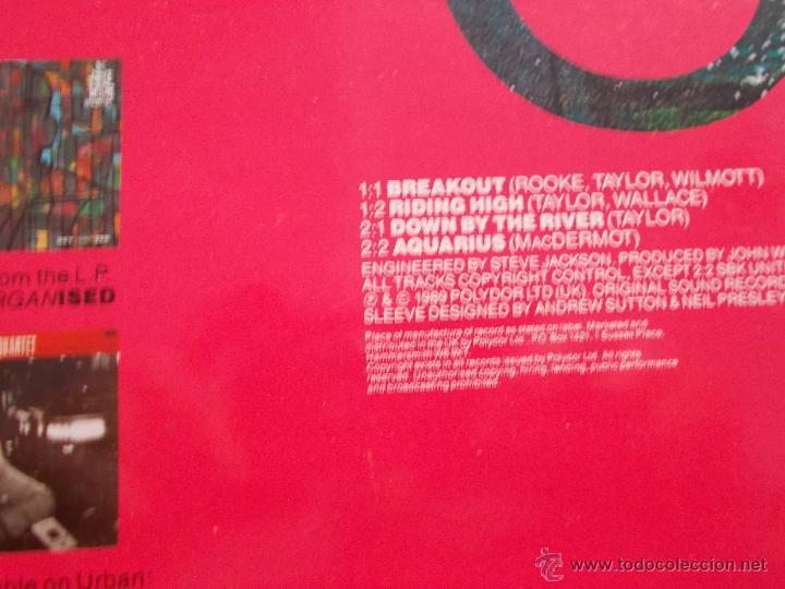Discos de vinilo: THE JAMES TAYLOR QUARTET. BREAK OUT MAXI 12 - Foto 2 - 50139984