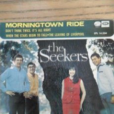 Discos de vinilo: THE SEEKERS. MORNINGTOWN RIDE. EMI. 1966. Lote 50142101