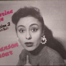 Discos de vinilo: LP-CATERINA VALENTE VOL.2 1955 CHANSON D´AMOUR BEAR FAMILY 15292-1986. Lote 50143830