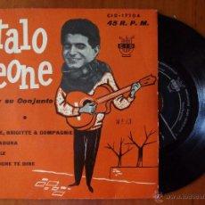 Discos de vinilo: ITALO LEONE, ANNETTE BRIGITTE & COMPAGNIE +3 (CID 1962) SINGLE EP ESPAÑA. Lote 50144242