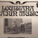 Discos de vinilo: LP-LOUISIANA CAJUN MUSIC VOL.1 FIRST RECORDINGS THE 1920´S ARHOOLIE 19028 GATEFOLD. Lote 50150322