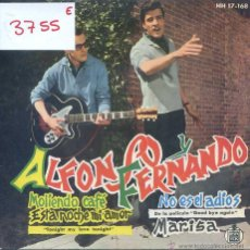 Discos de vinilo: ALFONSO Y FERNANDO / MOLIENDO CAFE / ESTA NOCHE MI AMOR + 2 (EP 1961). Lote 50151542