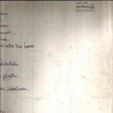 Discos de vinilo: LP GINO PAOLI : LE DUE FACCE DELL´ AMORE (COPIA MUY ESPECIAL ). Lote 50152479