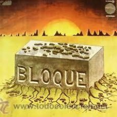 Discos de vinilo: BLOQUE - BLOQUE ( LP REEDICIÓN 2015 SONY SPAIN ) 70S SPANISH ROCK PROG,. Lote 50154040