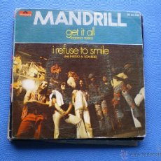 Discos de vinilo: MANDRIL GET IT ALL SINGLE SPAIN 1972 PDELUXE. Lote 50154633