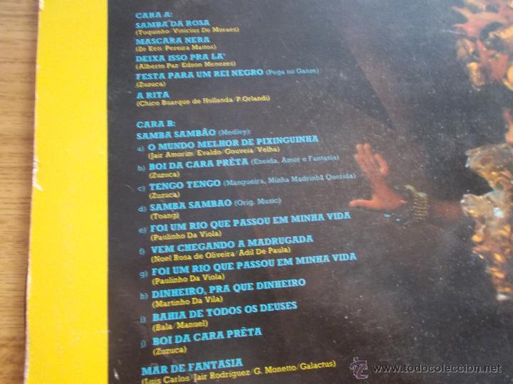 Discos de vinilo: JAIR RODRIGUEZ. SAMBA SAMBAO - Foto 2 - 50156931