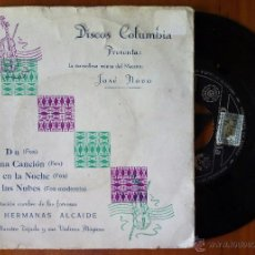 Discos de vinilo: HERMANAS ALCAIDE - JOSE NOVO, DULI DU +3 (COLUMBIA 1960) SINGLE EP - TRICENTRE - PICOLINA CANCION. Lote 50157635