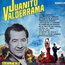 Discos de vinilo: 'CANTA', DE JUANITO VALDERRAMA. LP 1966. BUEN ESTADO.. Lote 50158309
