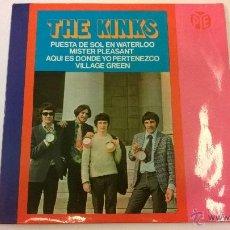 Discos de vinilo: THE KINKS.PUESTA DE SOL EN WATERLOO.EP.ESPAÑA 1967.HISPAVOX.. Lote 50160499