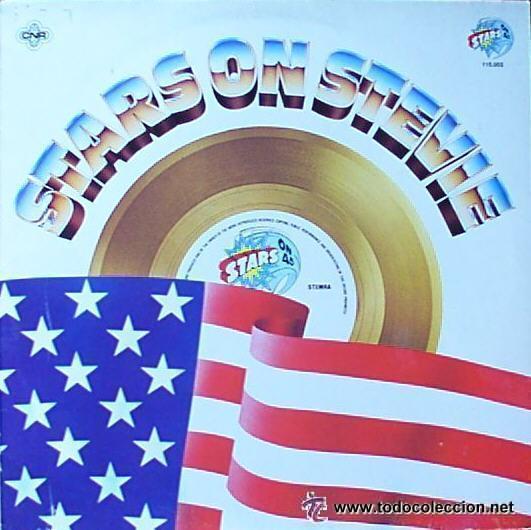 STARS ON 45 - STARS ON STEVIE - MAXI-SINGLE, MIXED SPAIN 1982 (Música - Discos de Vinilo - Maxi Singles - Orquestas)