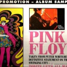 Discos de vinilo: LP PINK FLOYD : TONITE LET´S ALL MAKE LOVE IN LONDON : INTERSTELLAR OVERDRIVE & NICKS BOOGIE . Lote 50162777